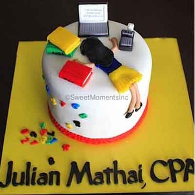 Torta Administrador | Torta de Contador Accounter Cake - Cod:CND04