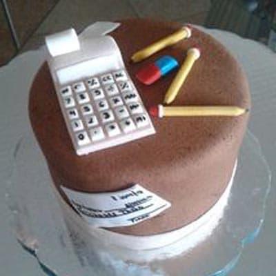 Torta de administrador | Torta de Contador Accounter Cake - Cod:CND06