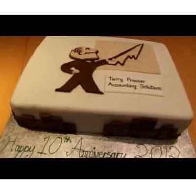 Torta para recepcionista | Torta de Contador Accounter Cake - Cod:CND09