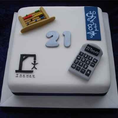 Torta de economista | Torta de Contador Accounter Cake - Cod:CND11