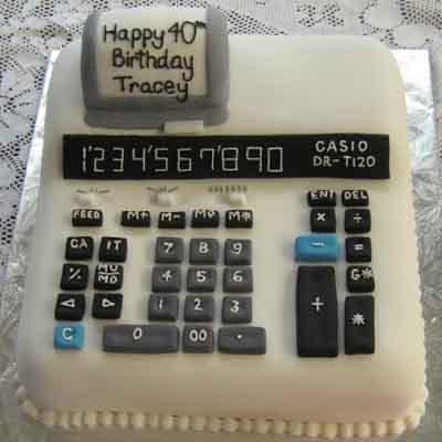 Torta para mi jefe | Torta de Contador Accounter Cake - Cod:CND12