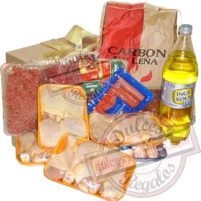 Canasta para regalar para Parrilleros - Cod:CNJ06