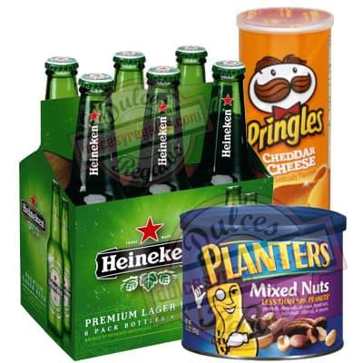 Canasta para regalar Cerveza Heineken - Cod:CNJ10