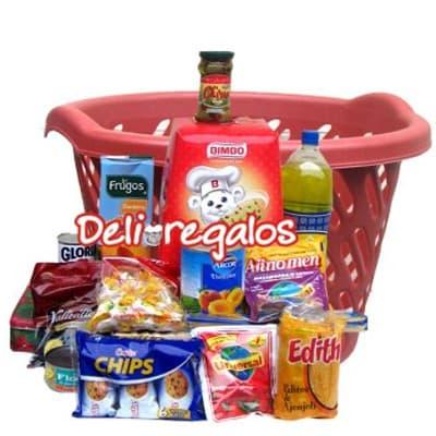 Regalos Peru | Canasta con viveres | Viveres para una canasta - Whatsapp: 980-660044