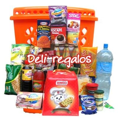 Canasta con Alimentos - Cod:CNT08