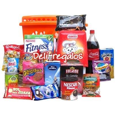 Canasta de alimentos - Cod:CNT10