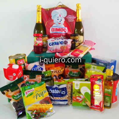 Canasta viveres especial | Canasta Variada con víveres alimentos en conserva - Cod:CNT12