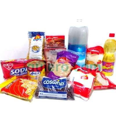 Regalos delivery Lima | Cesta de Viveres | Canasta de Viveres Lista - Cod:CNT01
