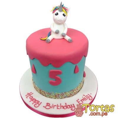 Torta Unicornio | Torta con Unicornio - Cod:COR06