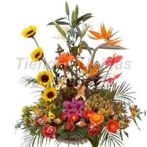 Arreglos florales para eventos en Lima Peru | Arreglo Floral para Inaguracion - Cod:CPT07