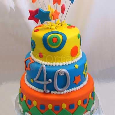 Torta de Cumpleaños - Cod:CUM01