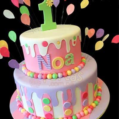 Pastel de Cumpleaños | Tortas de Cumpleaños - Cod:CUM06