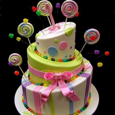 Pastel para Cumpleaños - Cod:CUM07