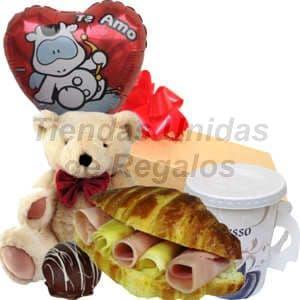 Desayuno te amo | Desayuno enamorados - Cod:DAM03