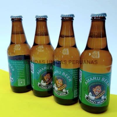 Deliregalos.com - Cerveza Crazy Monk de Cafe x 4 - Codigo:DBA06 - Detalles: Cerveza artesanal con caf� org�nico 100% peruano. Exquisito Sabor 5% de alcohol. Presentaci�n de 4 unidades. . El presente viene en una caja de regalo sellada e incluye tarjeta de dedicatoria. Contenido neto de cada botella 330ml de exquisita cerveza negra. - - Para mayores informes llamenos al Telf: 225-5120 o 476-0753.