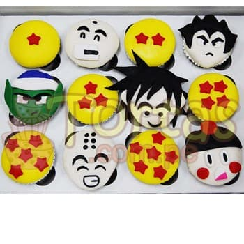 Cupcakes Dragon Ball - Whatsapp: 980-660044