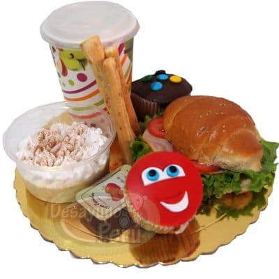 Desayuno Cars con cupcakes - Cod:DCA02