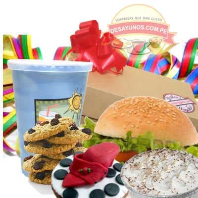 Desayuno Sorpresa | Desayunos para Cumpleaños - Cod:DCS06