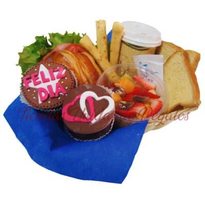 Desayuno de Sorpresa | Desayunos para cumpleaños - Cod:DCS09