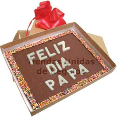 Chocolates para Papá | Regalos Personalizados Dia del Padre - Cod:DDP08