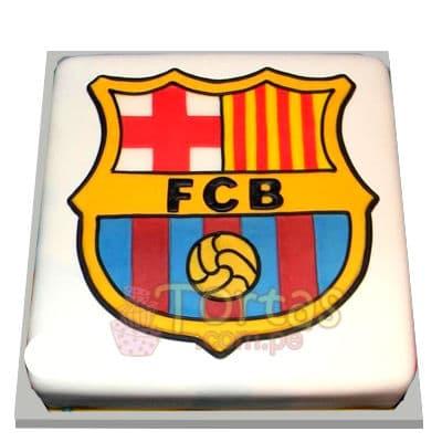 Torta de Barcelona Cuadrada | Torta Barcelona | Tortas barcelona - Cod:IDA12