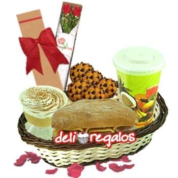 Desayuno para Dama | Cestas de regalo para mujer - Cod:DEA02