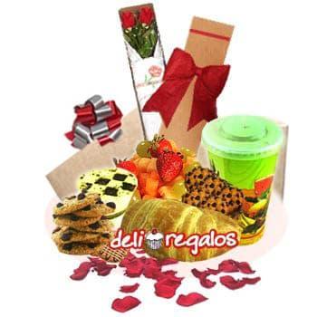 Desayuno | Cesta desayuno Sorpresa | Desayunos Sorpresa | Lonches Delivery  - Cod:DEA18