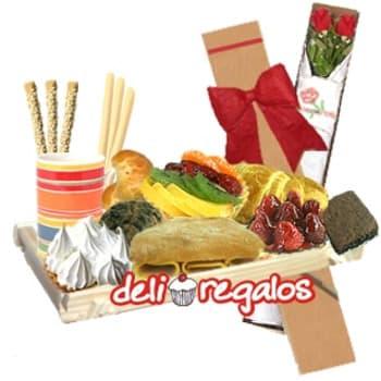 Desayuno Delivery | Bandeja de Desayuno para Regalar - Cod:DEA16