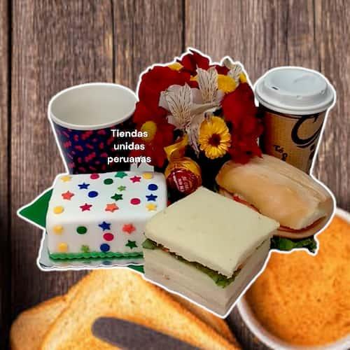 Desayunos a Domicilio | Desayunos de Cumpleaños a Domicilio para Hombres - Whatsapp: 980-660044