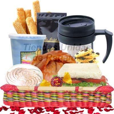 Desayunos Sorpresa | Desayunos Peru | Desayunos para Hombres - Cod:DEL02