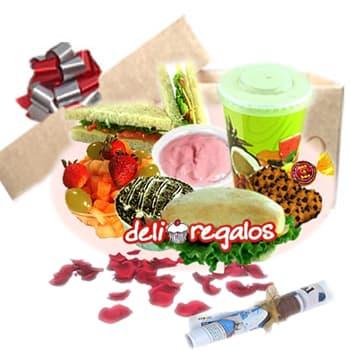 Desayunos a Domicilio Cumpleaños | Desayuno para Hombres a domicilio - Cod:DEL07