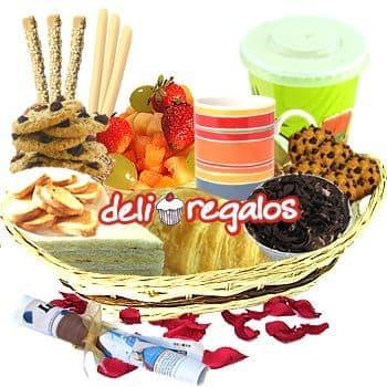 Desayunos a domicilio | Desayunos Delivery | Desayuno Regalo Domicilio - Cod:DEL08