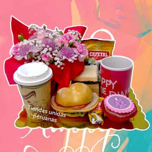 Regalos a Domicilio Delivery lima | Desayunos Sorpresa Cumpleaños | Desayunos Peru - Cod:DEL19