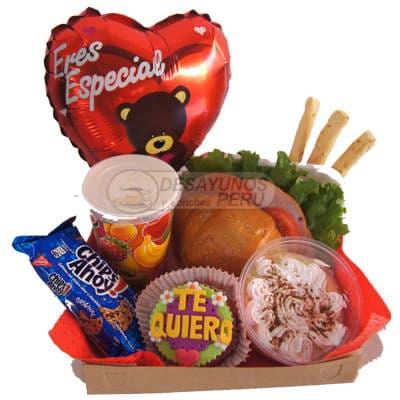 Desayunos delivery Dia del Padre | Desayunos a Domicilio Lima | Desayuno Suerte - Cod:DEL20