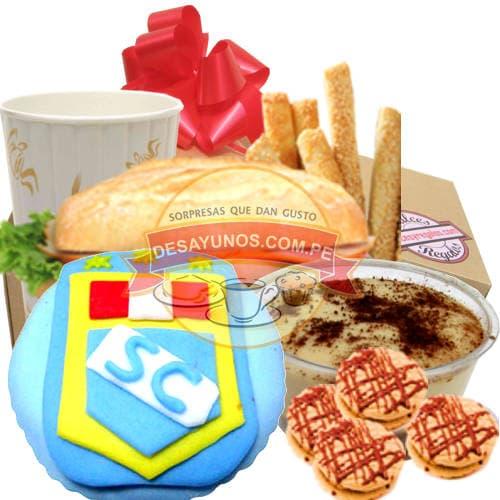 Desayuno Cristal - Cod:DEL25