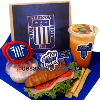 Desayunos a Domicilio dia del Padre | Desayuno Alianza Lima | Desayunos Peru - Cod:DEL26