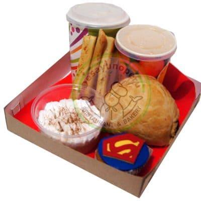 Desayuno SuperMan - Cod:DGA01