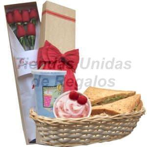 Desayuno Gourmet | Delivery de Desayunos Rosatel Para Regalar y Sorprender - Cod:DJK04