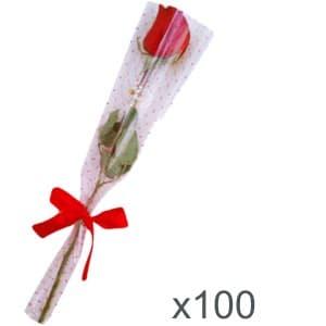 Regalisma: Regalos de empresa, artículos publicitarios | Ramo de Rosas x 100 unidades - Cod:DME02