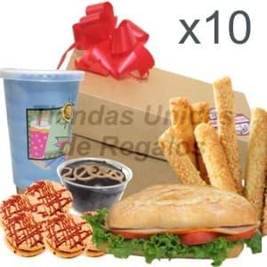 Regalos para Empresas | Desayunos para empresas 10 personas - Cod:DME03