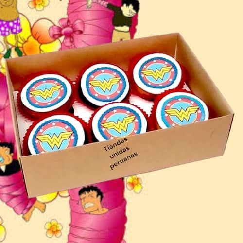 Cupcakes Dia de la Mujer | Cupcakes por el dia de la Mujer - Cod:DMJ03