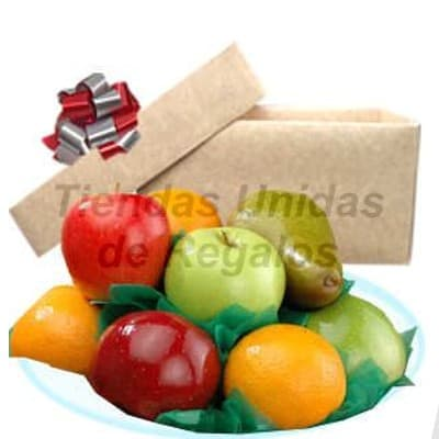 Frutero Mujer  - Codigo:DMJ39 - Detalles: Exquisito frutero en caja de carton ecologico conteniendo: 2  manzana, 2 pera, 2 naranjas, racimo de uva.  - - Para mayores informes llamenos al Telf: 225-5120 o 980-660044.