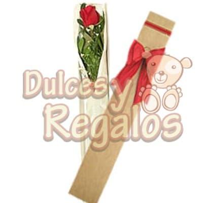 Caja con 1 rosa - Codigo:DMJ42 - Detalles: Exclusiva caja conteniendo una rosa importada incluye aquapin para garantizar la frescura de la rosa a transportar. - - Para mayores informes llamenos al Telf: 225-5120 o 980-660044.