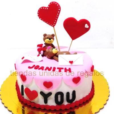 Tortas | Torta Ositos Enamorados - Cod:DMK01