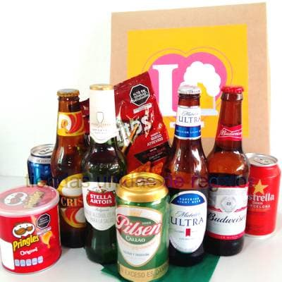 Regalos Peru | Canasta de Cervezas - Cod:CNT08