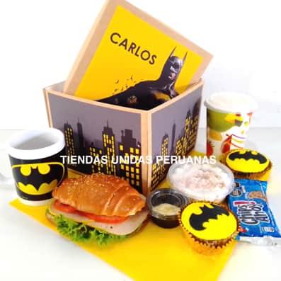 Desayuno Batman | Desayunos Personalizados - Cod:DMK14