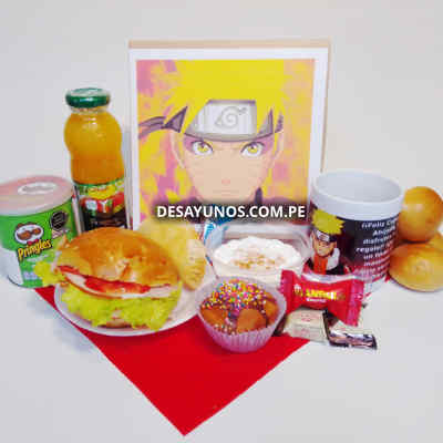 Desayuno Naruto | Desayuno de Naruto - Cod:DNN05