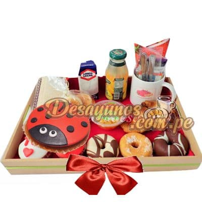 Desayuno Lady Bug | Sorpresas | Desayuno sorpresa para niños - Cod:DNN24