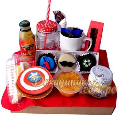 Desayuno Capitan America - Cod:DNN30