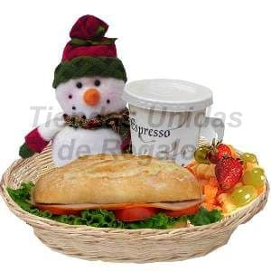 Desayuno navideño | Desayunos navideños a domicilio - Cod:DNV01